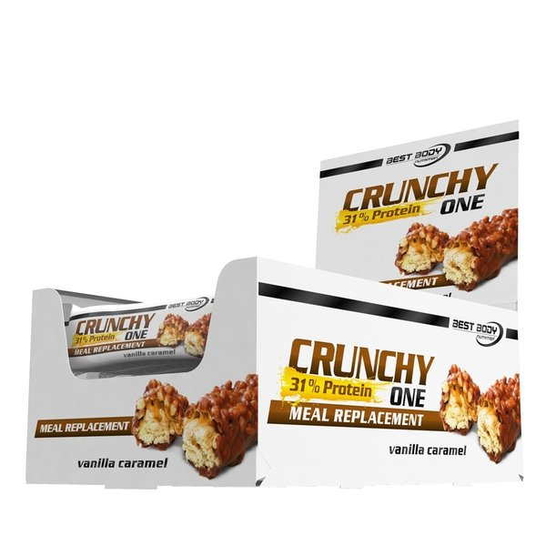 Best Body Crunchy One Protein Eiweiss (20 Riegel a 60g)